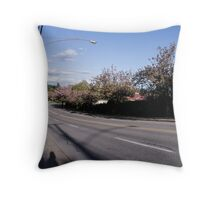 29th St in North Vancouver Throw Pillow