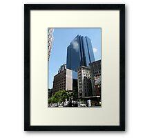 Boston Buildings Framed Print