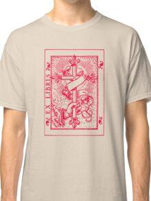 Cross Banner & Fleur De Lys Classic T-Shirt