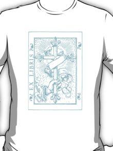 Cross Banner & Fleur De Lys T-Shirt