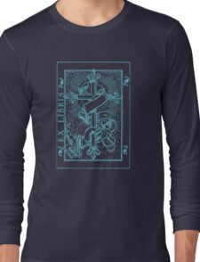 Cross Banner & Fleur De Lys Long Sleeve T-Shirt