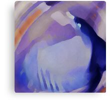 Ode to Blue Morphism Canvas Print