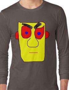 Yellow Face Long Sleeve T-Shirt