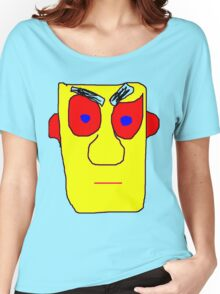 Yellow Face Women's Relaxed Fit T-Shirt