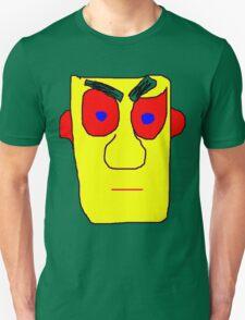 Yellow Face Unisex T-Shirt