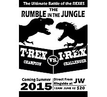 The Rumble in the Jungle Photographic Print