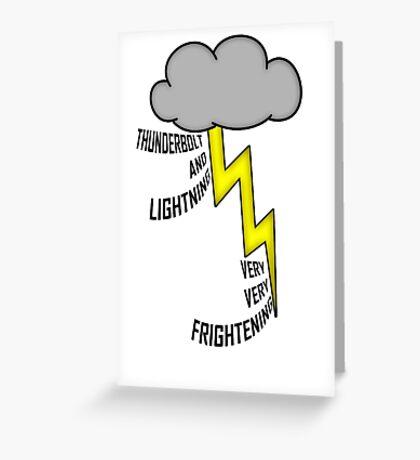 Bohemian Rhapsody Lyrics Greeting Card