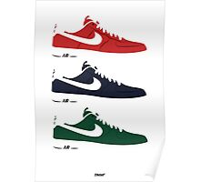 NIKE Air Force 1  Poster