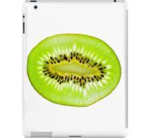 Kiwi fruit slice iPad Case/Skin