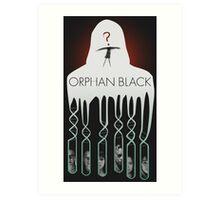 Orphan Black Fan Poster Art Print