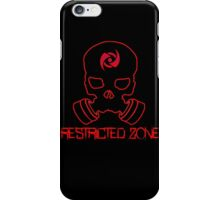 Restricted Zone by ZF iPhone Case/Skin