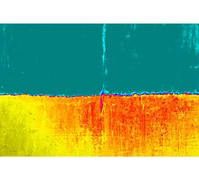 Modern Original Art Abstract Titled: Where Are You Going Photographic Print