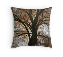 Backlit Gold Throw Pillow