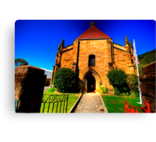Convict Stone - The Garrison Church - The Rocks - The HDR Series Canvas Print