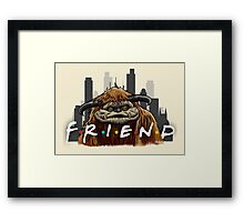 He'll Be There For You  Framed Print