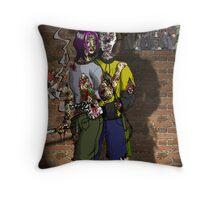 Graff and Celeste Throw Pillow