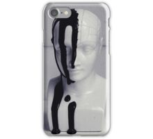 Phrenology bust. iPhone Case/Skin