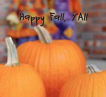 Happy Fall Y'All Card by jenniferd