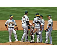 Meeting on the Mound Photographic Print