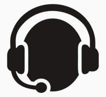 Headset headphones Kids Tee