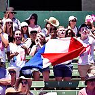 French Cheer Squad by Natalie Ord