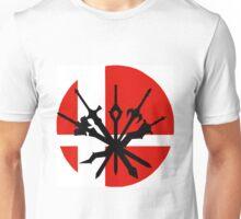 All Smash Bro's Fire Emblem Character Swords Unisex T-Shirt