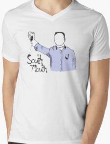 Kappa Zeta Nu - Stan Halen - Workaholics - South Mouth T-Shirt Mens V-Neck T-Shirt