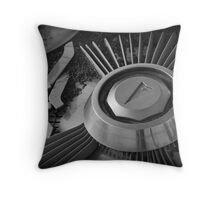 Hub Cap Throw Pillow