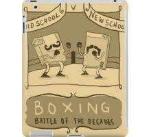 Old Timey Boxing Games iPad Case/Skin