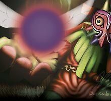 Majora's Mask: Skull Kid by mrbuckalew