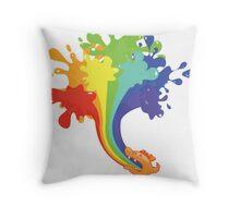 Dragon Spew Throw Pillow
