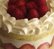 Berry and Cream Cake by tali