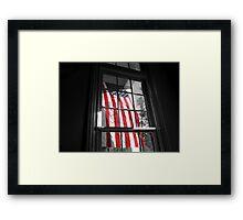 American Window  Framed Print