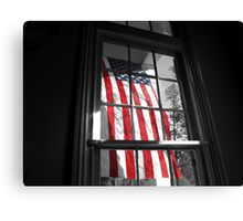 American Window  Canvas Print
