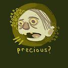 A hasty portrait of Gollum by thesnuttch