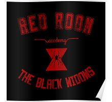 red room academy (grungy version) Poster