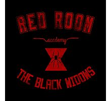 red room academy (grungy version) Photographic Print