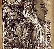 The Hobbit - The Desolation of Smaug by JustAnor