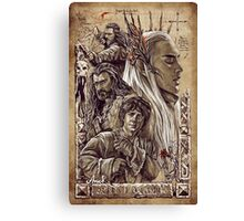 The Hobbit - The Desolation of Smaug Canvas Print