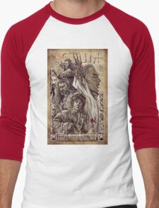 The Hobbit - The Desolation of Smaug Men's Baseball ¾ T-Shirt