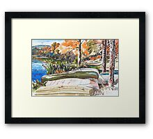 Last Summer in Brigadoon Framed Print