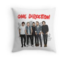 ONE DIRECTION WATERCOLOR Throw Pillow