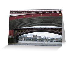 Blackfriars Bridge, London Greeting Card