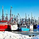 Frozen Harbor by Poete100