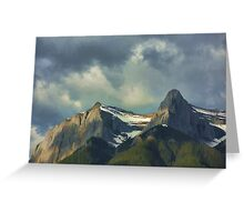 East End Of Rundle Greeting Card