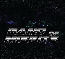 Band of Misfits Black Logo by bandofmisfits