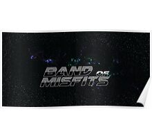 Band of Misfits Black Logo Poster