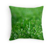 Grass Blades Throw Pillow