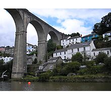 Calstock Viaduct, River Tamar Photographic Print