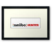 The Amiibo Hunter Shirt #2 Framed Print